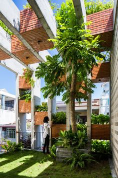 ALPES green design & build brings resort lifestyle to vietnamese townhouse