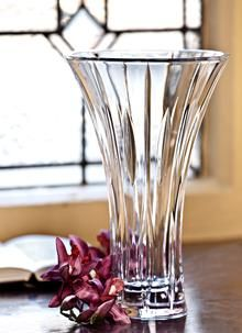 Buy the Waterford Crystal Sheridan Flared Vase from Blarney Woollen Mills. Crystal Stemware, Crystal Vase, Crystal Gifts, Waterford Marquis, Waterford Crystal, Bud Vases, Own Home, Glass Vase, Collection
