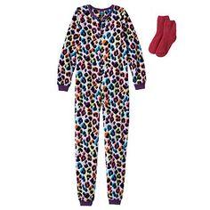 Jelli Fish Kids Fleece Pajama Onesie Set - Girls $20.40  NO FEET!!! @ kohls.com (online only)