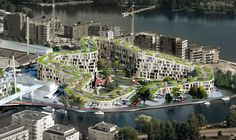 The BIG's Proposal: The Red Line- a Cultural and Residential Mix, Tampere, Finland