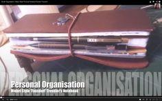 Studio Organisation | Midori Traveler's Notebook Style System 'Fauxdori'
