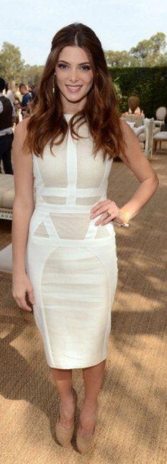 Ashley Greene: Dress - Antonio Berardi