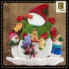 Trabajos navideños Vol.30 Christmas Clay, Christmas Ornament Crafts, Christmas Sewing, Simple Christmas, Christmas Holidays, Diy And Crafts, Christmas Crafts, Christmas Decorations, Holiday Decor