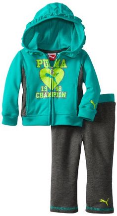 Puma - Kids Baby-Girls Infant Champion Hoodie Set for only $16.19 You save: $31.81 (66%)