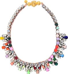 Shourouk Pamela Jumble necklace