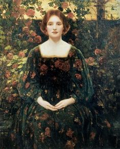 Thomas Edwin Mostyn (1864-1930, England) | Womanhood