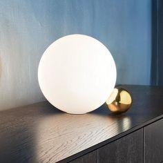 KIARA Table Light — Best Goodie Shop Creative Lamps, Shops, Cool Lighting, Table Lighting, Lighting Ideas, Ball Lights, Glass Ball, Lamp Design, Light Table