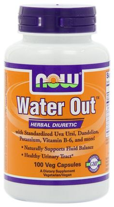 NOW Foods Water-Out(Tm), 100 Vcaps *** Discover this special product, click the image : Weight loss Diuretics