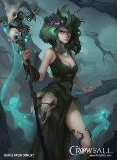 Crowfall - Throne War MMO | Archetyp Druide