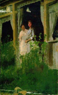 Выздоравливающая. 1885 - Крамской Иван Николаевич