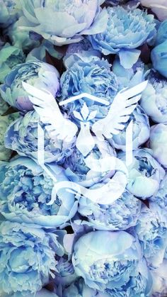 Team Mystic, Pokemon Go, Pokemon, peonies, floral, wallpaper, background, girly