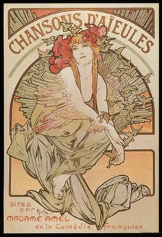 "By Alfonso Mucha. The moment I saw this I just decided, ""I have to have this as a tattoo."" <3"