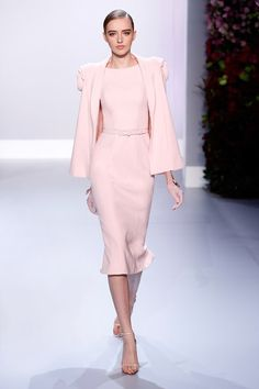Boss girl in Couture Corporate wear. Ralph Russo Couture S/S 2014
