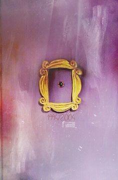 Monica Geller's apartment door