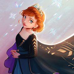 Walt Disney, Disney Nerd, Disney Fan Art, Cute Disney, Disney Girls, Frozen Fan Art, Frozen And Tangled, Disney Frozen, Disney Princess Art