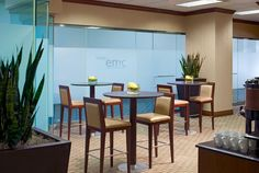 Westin Southfield Detroit Hotel EMC Break Area