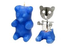 Skeleton Gummi Bear Candle ($55) | 22 Candles With No Chill Whatsoever