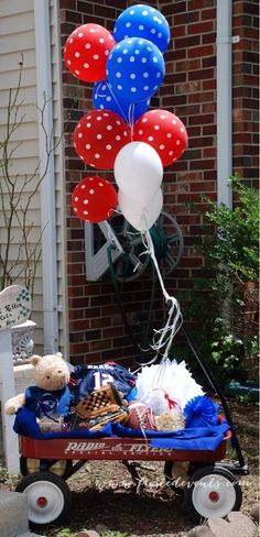 Baby Shower-  Botson Red Sox & Patriots Sports Theme www.frostedevents.com  Baby Boy Shower Ideas