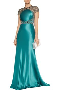 Shop on-sale Catherine Deane Elle embellished tulle and satin gown. Browse other discount designer Dresses & more on The Most Fashionable Fashion Outlet, THE OUTNET. Designer Clothes Sale, Discount Designer Clothes, Designer Dresses, Dress First, New Dress, Discount Womens Clothing, Satin Gown, Mothers Dresses, Luxury Dress