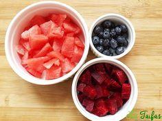 Smoothie de Sfeclă, Pepene și Afine Rețetă Grapefruit, Smoothie, Watermelon, Food, Salads, Essen, Smoothies, Meals, Yemek