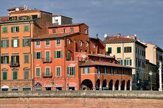 palazzi sui Lungarni a Pisa   #TuscanyAgriturismoGiratola
