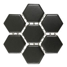 Renovators Supply Matte Black Grade A Porcelain Hexagon Kitchen Or Bathroom Floor Or Wall Tile 19.3 SQ FT Includes 23 of 10.25 X 11.8 TileSheets * You can find even more information by going to the photo link. (This is an affiliate link). Photo Link, Kitchen Fixtures, Bathroom Flooring, Wall Tiles, Matte Black, Porcelain, Room Tiles, Porcelain Ceramics, Kitchen Faucets