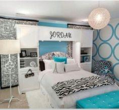 30 dream interior design ideas for teenage girl's rooms | girls