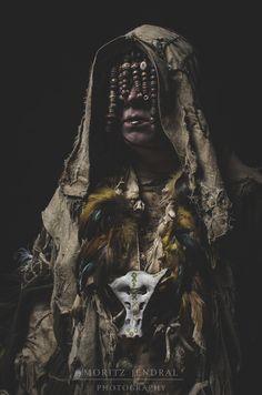 Schamanin Tribal