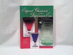 Depression Glass Book Identification and Price Guide 2001 Hardcover 9th Edition