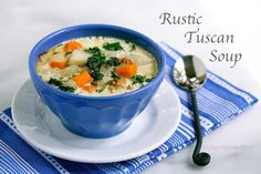 Tuscan bean soup, Beans and Soups on Pinterest