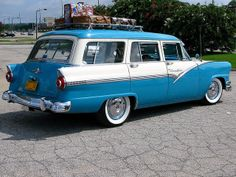 1956 Ford custom wagon | Recent Photos The Commons Getty Collection Galleries World Map App ...