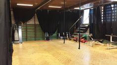 Gymsalen på Blindern Studenterhjem