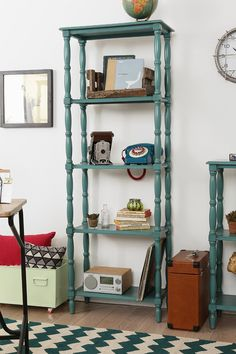 Margot Tall Spindle Bookcase - Urban Outfitters