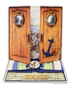 Decoupage: La Pashe Behind Closed Doors by Jak Heath
