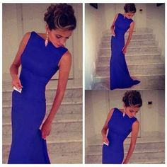 High Quality Women Summer Party Dresses Sexy Sleeveless O Neck Maxi Long Bodycon Dress Blue Pink Black Vestidos Fiesta Gowns Sexy Dresses, Unique Prom Dresses, Women's Evening Dresses, Women's Fashion Dresses, Dresses For Pregnant Women, Club Party Dresses, Festa Party, Western Dresses, Dress Picture