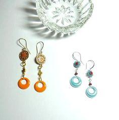 ModMiniHoops™ Jewelry Ideas, Drop Earrings, How To Make, Chandelier Earrings
