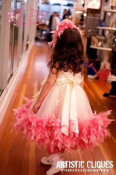Tutu Feather Dress
