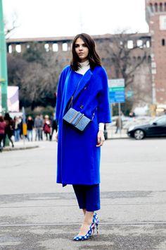 Street style: Diona Cioban after Jil Sander in Milan