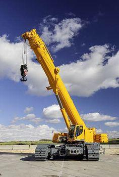 » Grúas móviles sobre cadenas Procedimientos de #construcción
