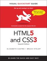 Peachpit Press - ebook deal of the week : HTML5 & CSS3 Visual QuickStart Guide, 7th Edition &9.99