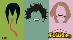 Boku no hero academia minimal wallpaper by freakRHO.deviantart.com on @DeviantArt