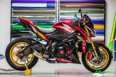 Suzuki GSX S1000 tuning by Taboo Shop
