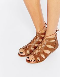 New+Look+Ghilly+Tan+Wedge+Sandals