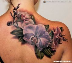 Orchid Tattoos Ideas
