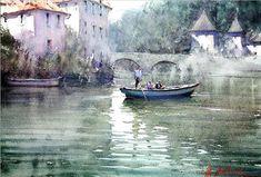 Joseph Zbukvic, Watercolors #watercolorarts