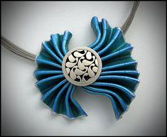 https://flic.kr/p/hwbrEz | Fan Fold Pendant | Another asymetrical version of the Fan Fold Pendant. .