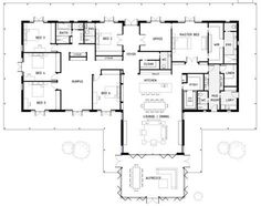 TOP BEAST Metal Building: Barndominium Floor Plans and Design Ideas for YOU! I just discovered barndominium floor plans / metal buildings that i think … best for :) 6 Bedroom House Plans, New House Plans, Dream House Plans, House Floor Plans, Modular Floor Plans, The Plan, How To Plan, Home Design, Plan Design