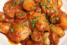 Chicken and chorizo crock-pot casserole