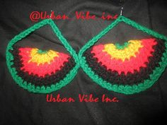 Urban Foxxy Roxxy Crochet Earrings Collection  by snchastang25, $12.00