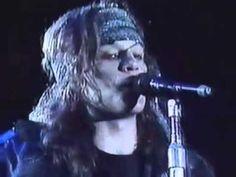 Bon Jovi Blood On Blood Live Chile 1990